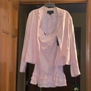 NWT Ralph Lauren blazer and skirt set